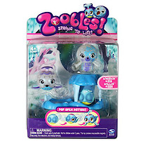 Zoobles! Chillville Collection - Whiskin and Willis Figures