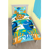 Finding Nemo Dory Single Duvet Set - Love To Swim