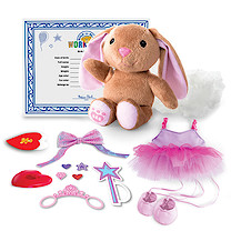 Build-A-Bear Workshop Skin with Furry Fashions - Ballerina Bunny