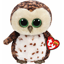 Ty Beanie Boo Buddy - Sammy the Owl Soft Toy