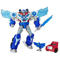 Transformers Robots in Disguise Power Surge Optimus Prime Figure