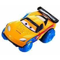 Disney Pixar Cars Hydro Wheels Jeff Corvette Vehicle