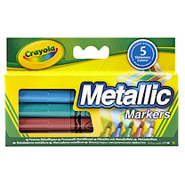 Crayola Metallic Markers - 5 Pieces