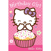 Hello Kitty Favourite Card (Styles Vary)