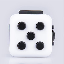 Fidget Cube Original Anti-Stress Toy - Black and White