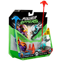 Power Rippers 2 Pack Power Claw vs Liquid Metal