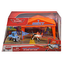 Disney Planes Diecast Dusty Crophopper Pit Row Gift Pack