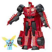 Transformers Robots in Disguise Power Surge Sideswipe Figure and Windstrike