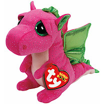 Ty Beanie Boos - Darla the Dragon Soft toy