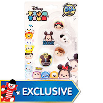 Disney Tsum Tsum Squishy Figure 4 Pack