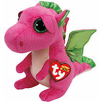 Ty Beanie Boo Buddy - Darla the Dragon Soft Toy