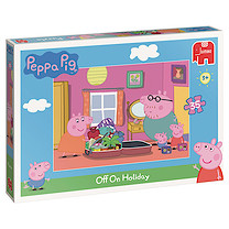 Peppa Pig 35 Piece Puzzle - Off On Holiday
