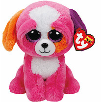 Ty Beanie Boo Buddy - Precious the Dog Soft Toy