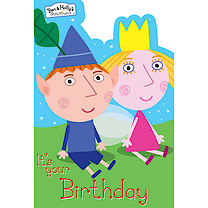 Ben & Holly Birthday Card
