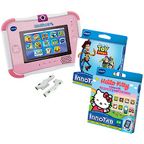 VTech InnoTab 3S Pink with Battery Pack and Two Games
