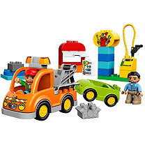 Lego Duplo Town Tow Truck  - 10814
