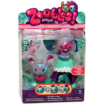 Zoobles! Chillville Collection - Pawdree and Bernita Figures