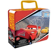 Disney Pixar Cars 3 Tin Puzzle