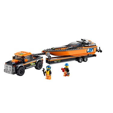 Lego City 4X4 With Powerboat -<br /> 60085