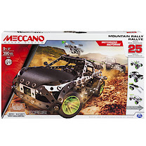 Meccano Mountain Rally 25 Model Set