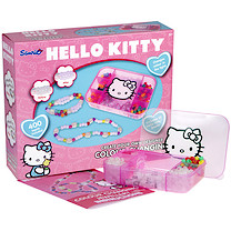 Hello Kitty Colour Changing Jewellery With Storage Case