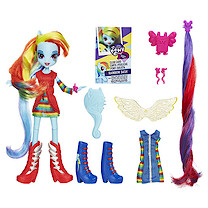 My Little Pony Equestria Girls Deluxe Doll - Rainbow Dash