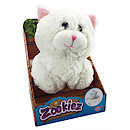 Zookiez 30cm Soft Toy - White Cat
