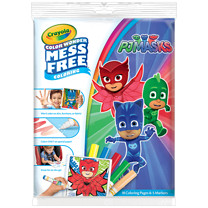 PJ Masks Crayola Color Wonder Mess Free Book