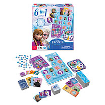 Disney Frozen 6 in 1 Game