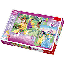 Disney Princess Two Puzzle Pack -24 and 48 Pieces