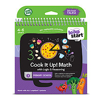 LeapFrog Leapstart Level 3 Activity Book - Cook it Up! Math