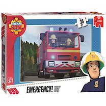 Fireman Sam Jumbo 35pc Puzzle - Emergency