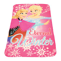 Disney Frozen Pink Fleece Blanket
