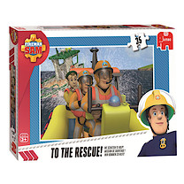Fireman Sam Jumbo 35pc Puzzle - To The Rescue