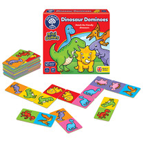 Orchard Toys Mini Game - Dinosaur Dominoes