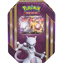 Pokemon XY Triple Power Spring Tin - Mewtwo EX