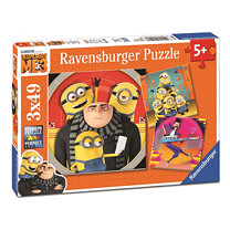 Ravensburger Despicable Me 3 - 3x 49pc Jigsaw Puzzles