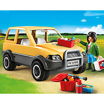 Playmobil - City Life Vet with Car 5532