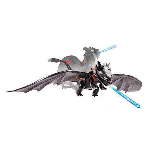 Image of Dragons Defenders of Berk Action Dragon - Toothless Dragon Master