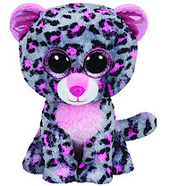 Ty Beanie Boos - Tasha the Leopard Soft Toy