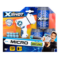 X-Shot Micro (3 Cans & 8 Darts)