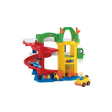 Fisher price little people racin 39 ramps garage fisher - Fisher price little people racin ramps garage ...