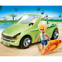 Playmobil - Summer Fun Surfer with Convertible 6069