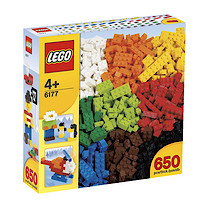Lego 650 Basic Bricks Deluxe Set - 6177