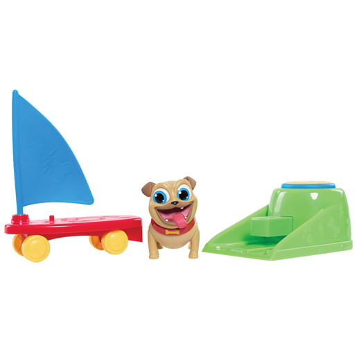Puppy Dog Pals On The Go- Rollys Sailboard Launcher