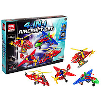 Metal Tech 4 in 1 Aircraft Building Set