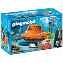 Playmobil 9234 Sports & Action Submarine with Underwater Motor