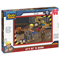 Bob the Builder 35 Piece Puzzle - Let's Get to Work!