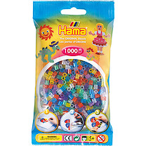 Hama Glitter Beads Pack - 1000 Pieces