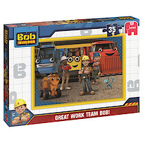 Bob the Builder 35 Piece Puzzle - Great Work Team Bob!
